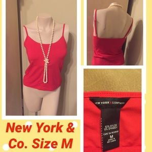 🛍NEW YORK & CO. TANK TOP SIZE M🛍WORN ONCE🛍